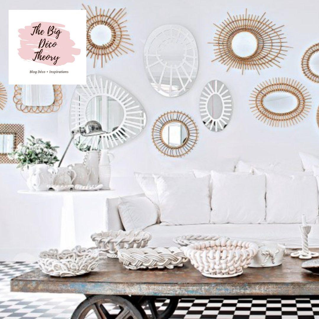 Faire Un Mur De Photos Décoration comment crÉer une dÉco tendance avec un mur de miroirs